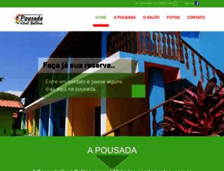 pousadadavovobellina.com.br screenshot