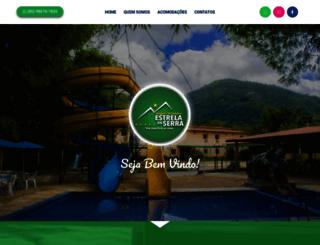 pousadaestreladaserra.com.br screenshot
