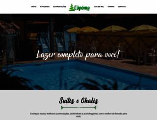pousadalaponia.com.br screenshot