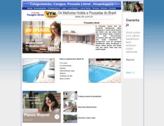 pousadalitoral.com.br screenshot