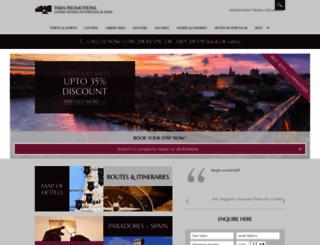 pousadasofportugal.com screenshot