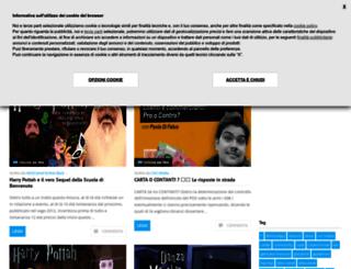 poveracci.altervista.org screenshot