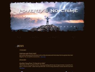povertys-no-crime.de screenshot