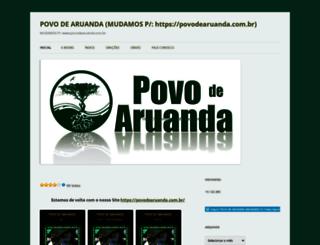 povodearuanda.wordpress.com screenshot