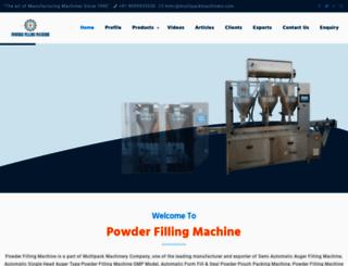 powderfillingmachine.net screenshot
