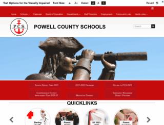 powell.kyschools.us screenshot