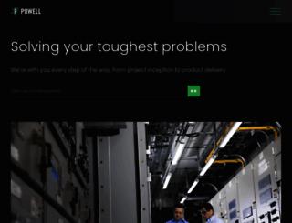 powellind.com screenshot
