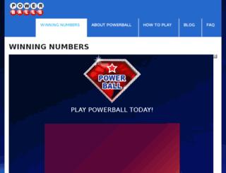 power-balls.net screenshot