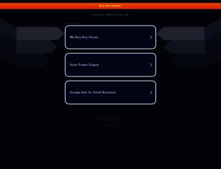 power-depot.co.uk screenshot