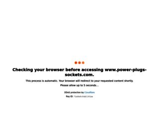power-plugs-sockets.com screenshot