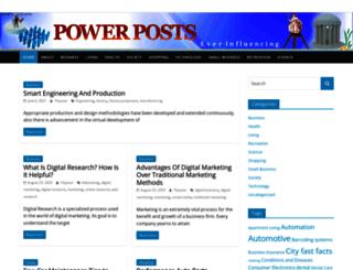 power-posts.com screenshot