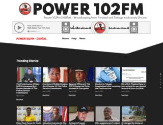 power102fm.com screenshot