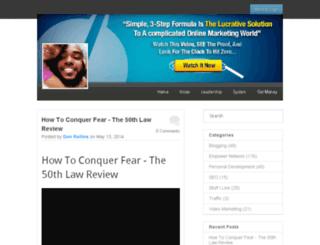 power2free.empowernetwork.com screenshot
