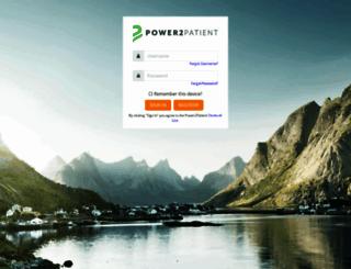 power2patient.net screenshot