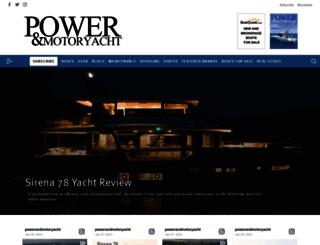 powerandmotoryacht.com screenshot