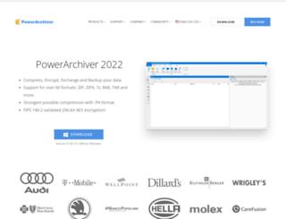 powerarchiver.com screenshot