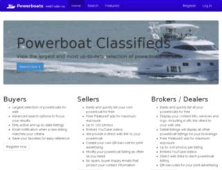 powerboats.webtrader.co screenshot