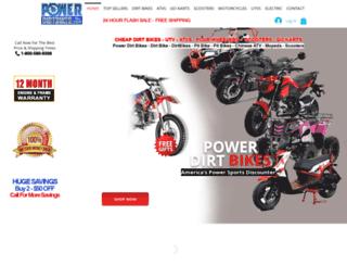 powerdirtbikes.com screenshot
