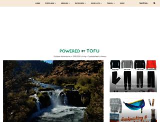 poweredbytofu.com screenshot