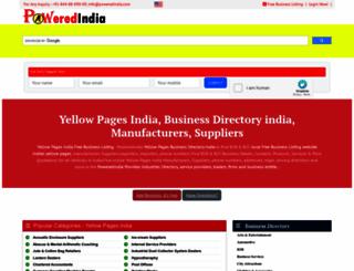 poweredindia.com screenshot