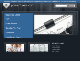 powerflyers.com screenshot