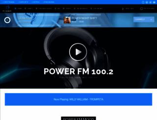powerfm.gr screenshot