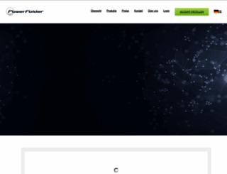 powerfolder.com screenshot