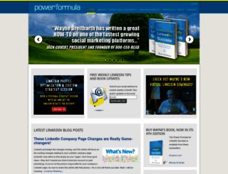 powerformula.net screenshot
