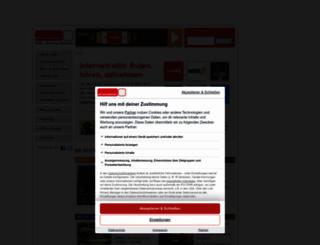 powerfoxradiode.phonostar.de screenshot