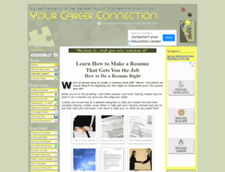powerful-sample-resume-formats.com screenshot