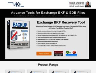 powerfulbkftopst.exchangebkfrepair.com screenshot