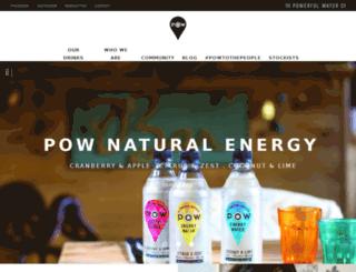 powerfulwater.co.uk screenshot