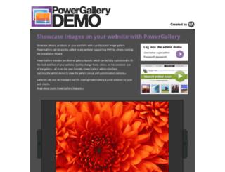 powergallery-demo.com screenshot