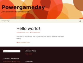 powergameday.com screenshot