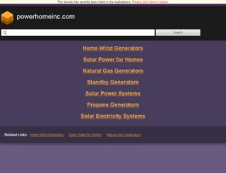 powerhomeinc.com screenshot
