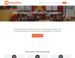 powerhostels.com screenshot