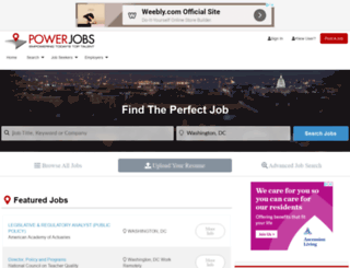 powerjobs.com screenshot