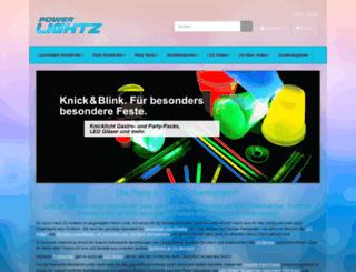 powerlightz.com screenshot