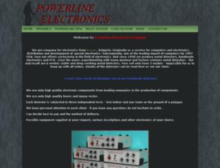 powerline-bg.com screenshot