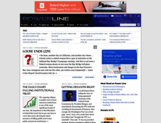 powerlineblog.com screenshot