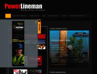 powerlineman.com screenshot