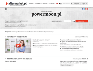 powermoon.pl screenshot