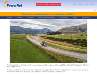 powernet.co.nz screenshot