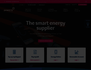 powerni.co.uk screenshot