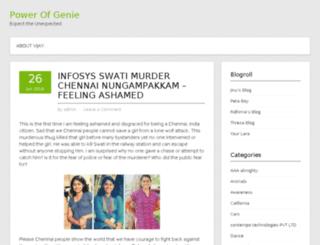 powerofgenie.com screenshot