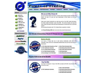 poweroftrading.com screenshot
