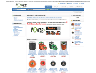 poweroutlet-tt.com screenshot