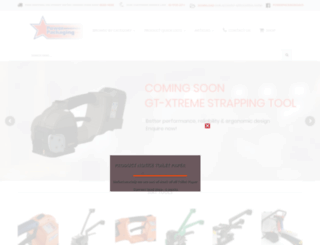 powerpackaging.com.au screenshot