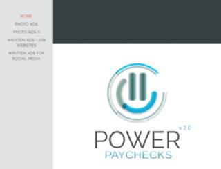powerpaychecksadcenter.com screenshot