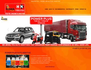 powerplusautoadditive.com screenshot